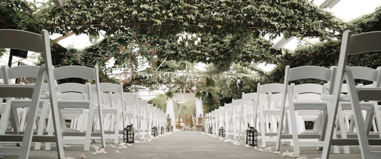 ceremony space madsens greenhouse