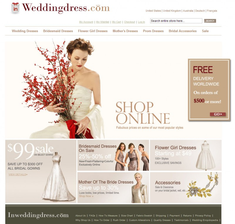 Image Result For Buying Wedding Dress Online