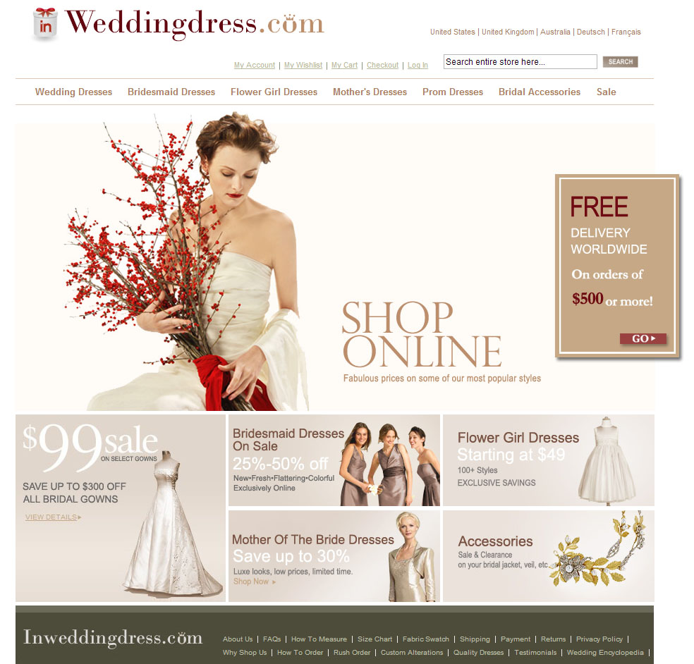 9ee59d03b08 My Online Wedding Dress (Buying) Experience!